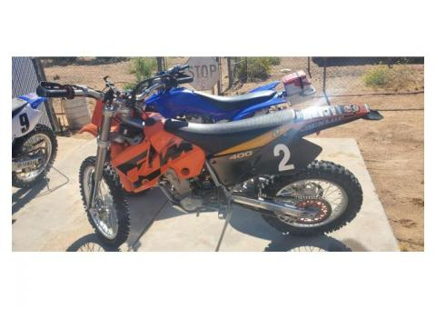 Dirt bikes and quad for sale