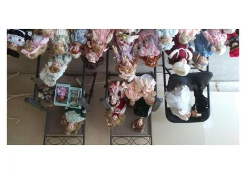 Porcelain Dolls For Sale, Some old, all ages and styles