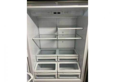 "Working Refrigerator - $50.00 GE Monogram 36"" 21.7 cubic Inch   Model: ZICS360NHLH"
