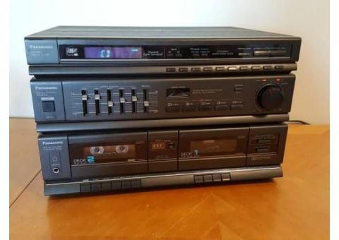Panasonic stereo casette receiver SA-H50B