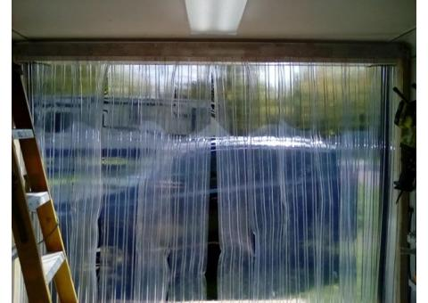 "81"" cargo trailer Strip Curtain"
